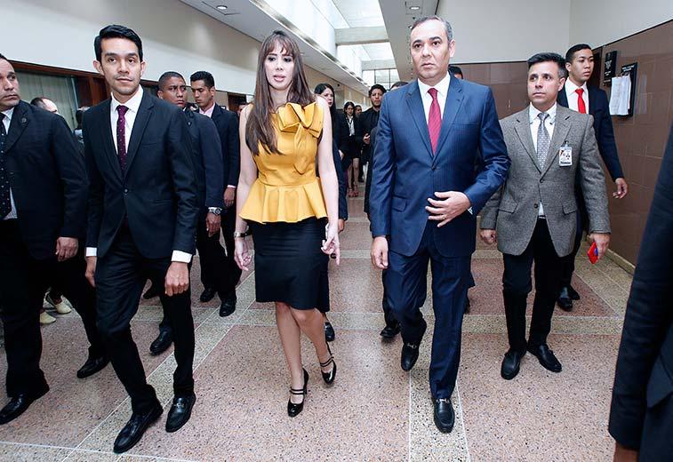 Circuito Judicial : Presidente del tsj inauguró sala de presentaciones del circuito